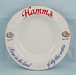 Hamm�s Beer Ashtray � Since 1865	 (Image1)