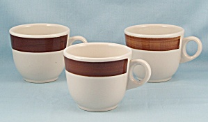 3 Shenango Cups - Brush - 1987