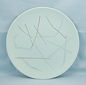 Russel Wright � Knowles � Grass Pattern � Salad Plate (Image1)