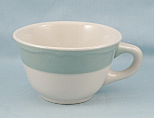 Mayer China – Cup / Turquoise Rim, Restaurant Ware (Image1)