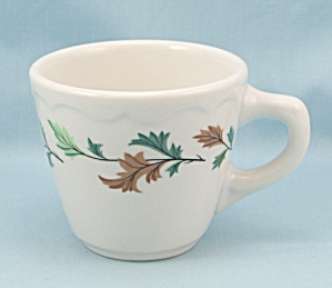 Syracuse China Cup, Restaurant Ware, Leaves (Image1)