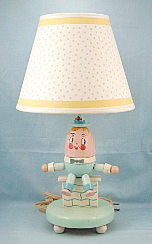 Vintage Humpty Dumpty - Lamp & Shade  (Image1)
