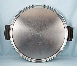 Round Chrome Cocktail/ Coffee Tray (Image1)