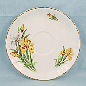 Flowers Of Shakespeare�s Day � Saucer, Flower�De-Luce (Image1)