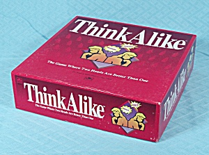 Think Alike Game, Golden, 1992