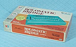 Rolomatic Bridge Machine, Set I for Beginners, Milton Bradley, 1969 (Image1)