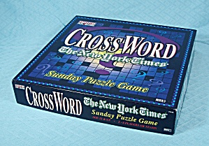 Crossword, The New York Times Sunday Puzzle Game, 1997