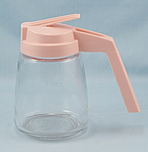 Syrup Pitcher � Fedco Corporation �Pink Top (Image1)