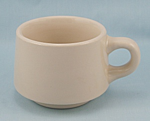 Wellsville China - 1956 Tan Cup