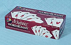 Scrabble Word Rummy, Selchow & Righter, 1987