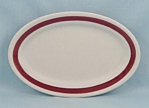 Jackson China, Small Oval Plate (Image1)
