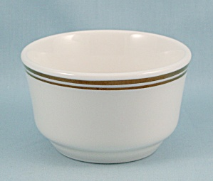 Homer Laughlin, Small Bowl, Gold Rings - Pristine	 (Image1)