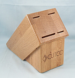 Cutco - Four Slot - Wood Knife Block