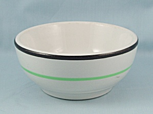 Wellsville China Chili Bowl, Stripes