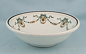 Mcnicol Vitrified China Decorated Bowl