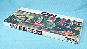 Clue Game, Parker Brothers, 1979