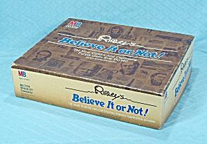 Ripley's Believe It or Not Game, Milton Bradley, 1984 (Image1)