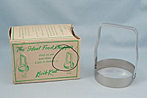 Kwik-Kut-  Plain Edge Food Chopper In Original Box  (Image1)