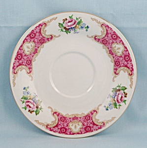 Red Sea China � Spring Garden - Saucer, Gold Trim (Image1)