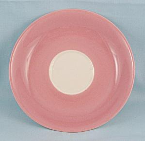Brinn's – Pittsburg Pa – Pink & White Saucer (Image1)