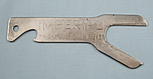 Imperial Whiskey By Hiram Walker -bottle Opener