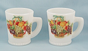 Two Unique McKee Mugs, Double Marked (Image1)