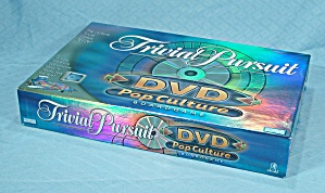Trivial Pursuit, Dvd Pop Culture Edition Game, Parker Brothers, 2003, Nib