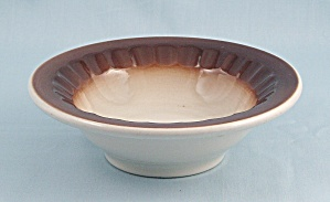 Mayer China, Small Bowl, Brown Rim (Image1)