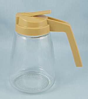 Federal Housewares - Syrup Pitcher - Harvest Gold