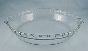 Pyrex - Flavour Saver, Fluted Pie Dish # 229, 10-inch