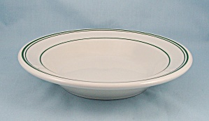 Homer Laughlin, Large Bowl, Green Lines