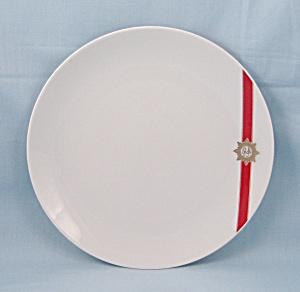 TWA – Plate, Red Stripe, Rosenthal, Germany (Image1)