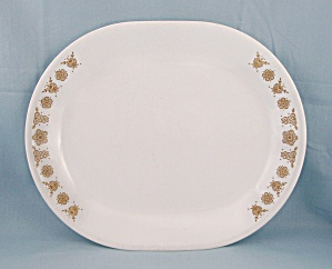 Corelle – Butterfly Gold – Oval Platter (Image1)