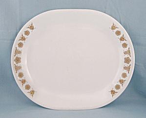 Corelle – Butterfly Gold – Oval Platter (Image1)