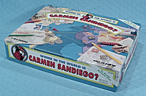 Where in the World is Carmen Sandiego? Game, University Games, 1992 (Image1)