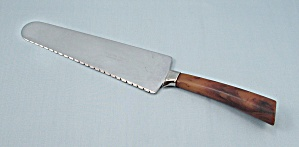 Cake Knife - Bakelite Handle - Frontier