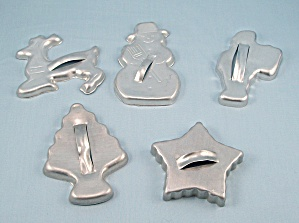 5 - Figural Christmas Cookie Cutters (Image1)