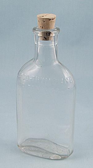 GLYCO – THYMOLINE – 3 Oz. Vintage Bottle (Image1)