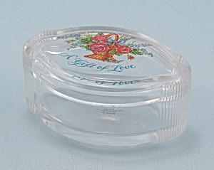 Avon, A Gift Of Love, Trinket/ Ring Box (Image1)