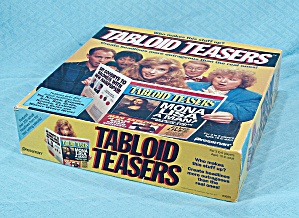 Tabloid Teasers Game, Pressman, 1991 (Image1)