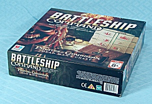 Battleship Command, Pirates Of The Caribbean Game, Milton Bradley, 2006
