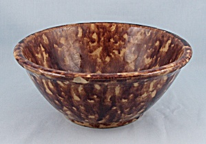 National - Yellow Ware, Sponge Ware Bowl