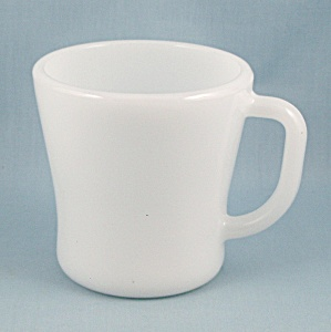 Federal Glass – White Mug  (Image1)