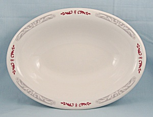 Homer Laughlin - Oval Serving Bowl
