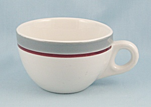 1966 Walker China Cup - Gray & Maroon
