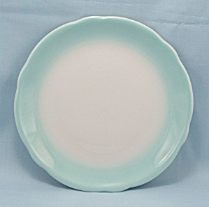 Jackson China, Airbrushed Turquoise Plate (Image1)