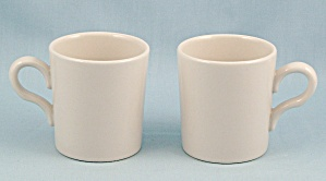 2 - Homer Laughlin China - Demi Cups