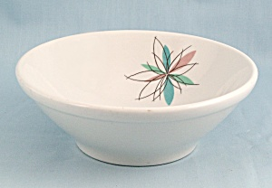 Shenango China - Bowl - Floral Design- 1963