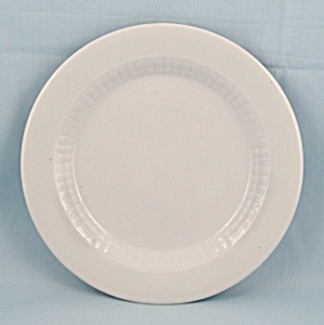 1978 Shenango China Plate, Ribbed