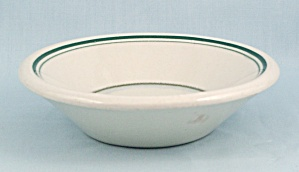 Small Bowl - Green Lines